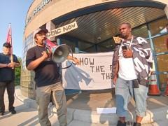 Milwaukee protest demands justice for Roberto Zielinski.