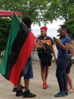 June 12 gathering at the site of police shooting on Milwaukee's lakefront