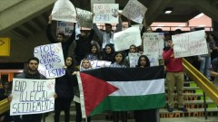 Milwaukee students stand in solidarity with Palestine