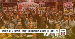 National Alliance calls for National Day of Protest:  May 3Oth