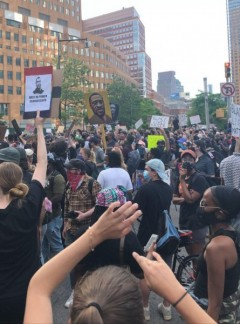 Protests continue in NYC
