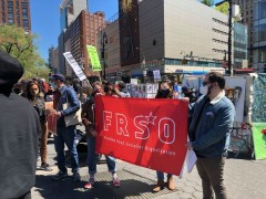 International Workers Day march in NYC.