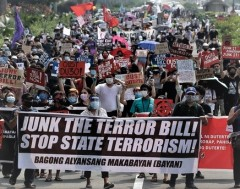 FRSO condemns Duterte's terror law, demands U.S. out of Philippines