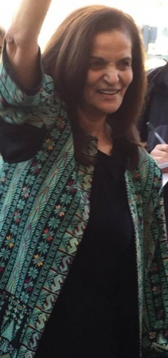 Rasmea Odeh after guilty verdict Nov. 10