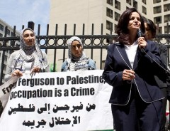 Rasmea Odeh speaking in Detroit June 13