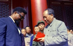 Mao with African American leader Robert Williams.