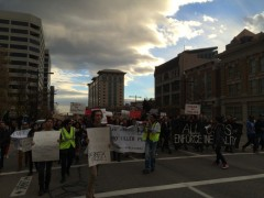 Huge march against police violence in Salt Lake City