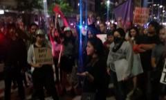 Houston protest against Trump