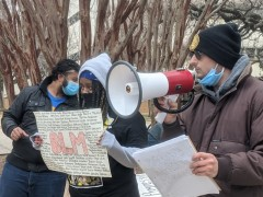 Rally for Accountability at UTA.