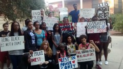Tallahassee students rally to demand justice for Corey Jones.