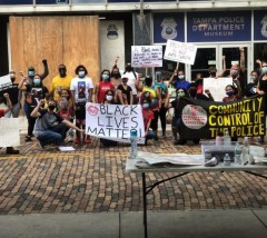 Tampa protest against police crimes.