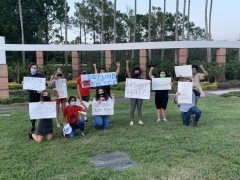 Tampa students fight budget cuts despite repression from administration.