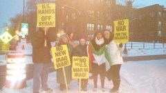 Twin Cites protest against the escalation of U.S wars in Iraq, Afghanistan, and