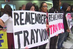 Tallahassee protest demands remembrance of Trayvon Martin.