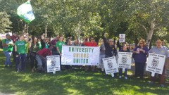 U of M workers say no to poverty wages