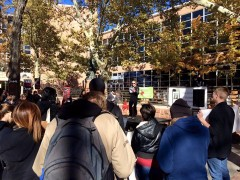Million Student March protest in Salt Lake City