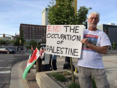 Utah protest commemorates Al Nakba.