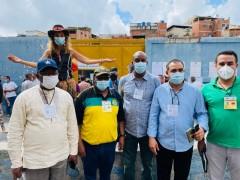 African delegation of Venezuela election observers.