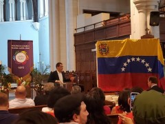 Venezuelan Minister of Foreign Affairs Jorge Arreaza.