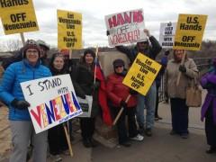 Minnesotans stand with Venezuela.