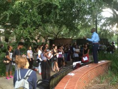 Florida State students demand justice for victims of police crime.