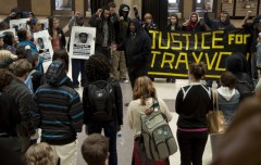 Milwaukee protest demand justice for Trayvon Martin
