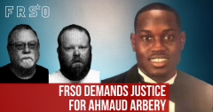 FRSO demands justice for Ahmaud Arbery