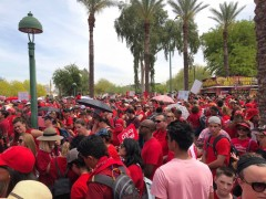 Striking Arizona teachers.