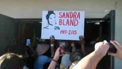 Protesters storm Waller County, Texas jail where Sandra Bland died