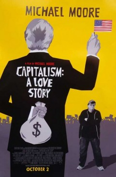 Movie poster for Capitalism: A Love Story