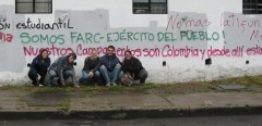 Photo of group that went to Colombia.