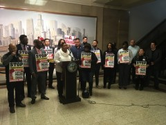 Jeanette Taylor pledged to join with other aldermen to submit CPAC legislation