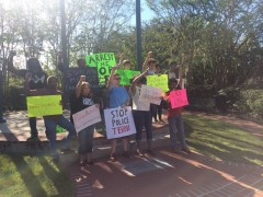 Tallahassee Dream Defenders rally for justice outside Leon County Courthouse