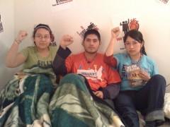 DREAMers on hunger strike at El Colegio in Minneapolis, 12/12/2010