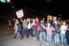 Salt Lake City protest against police shooting of Abdi Mohamed.