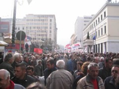 Rally in Greece