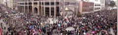 Historic Thousands on Jones Street march
