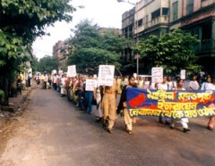 Protest in India against Israel-Lebanon War