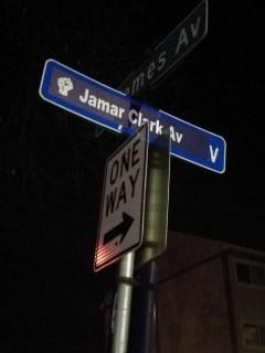 Jamar Clark Avenue.