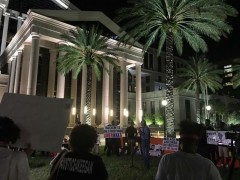 Jacksonville, FL protest demands justice for Vernell Bing and Keegan Roberts