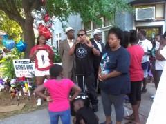 Jacksonville protest demands justice for Vernell Bing Jr.
