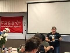 Jess Sundin, Freedom Road Socialist Organization.