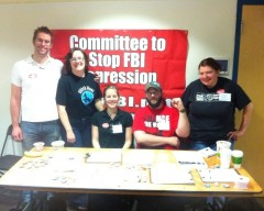 Committee to Stop FBI Repression at LASC conference