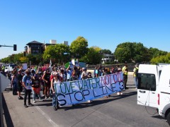 Minnesota march against Line 3