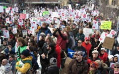 Protest in Madison, February 15