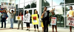 Marisol Marquez of Dream Defenders speaks on legalization for all.