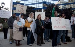 Milwaukee rally against FBI repression of anti-war activists