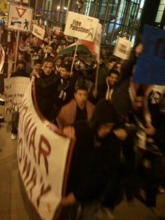 Milwaukee protest against attacks on Gaza