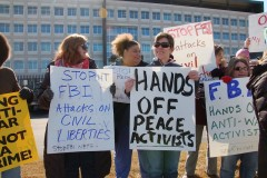 Protest against repression of anti war activists at new MN/Dakotas FBI office
