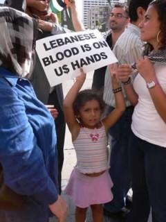 Protest in Minneapolis against Israel-Lebanon War